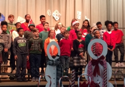 Listen to our 4th graders from the Holiday Concert!